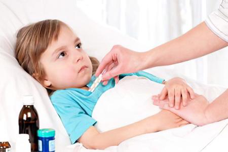 антибиотик ребенку при температуре