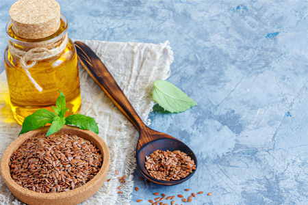 Лечение мастопатии льняным маслом