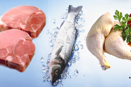 Мясо, птица и рыба