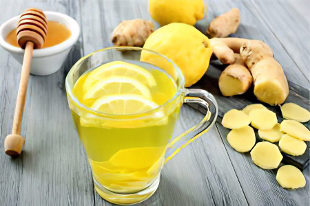 имбирь с лимоном, киви и мёдом рецепт здоровья