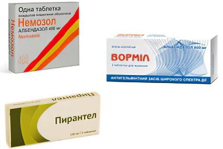 таблетки от паразитов аптеке
