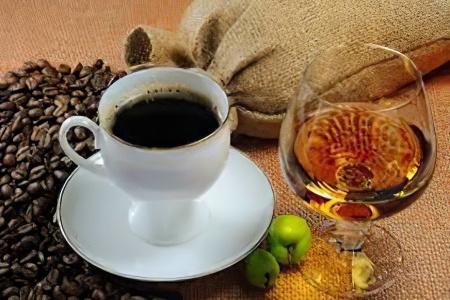 алкоголь и кофе