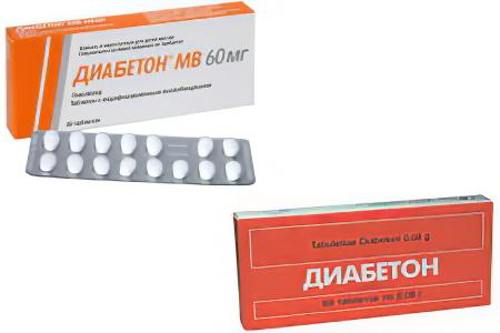 Диабетон МВ: инструкция. Как принимать, чем заменить, аналоги.