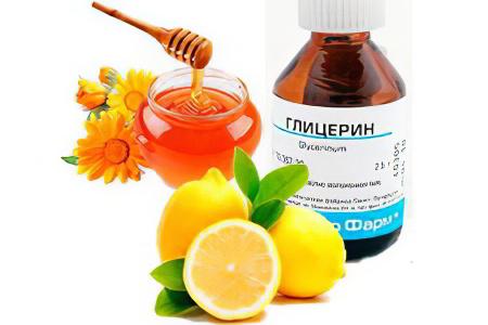 Лечение бронхита лимоном, медом и глицерином