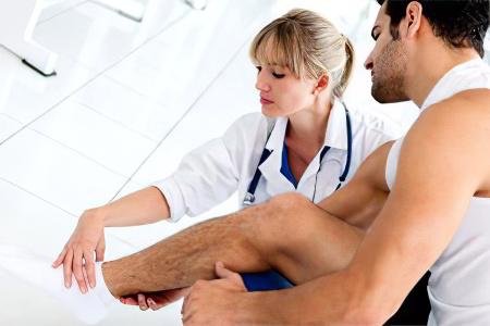 Лечение переломов большой берцовой кости