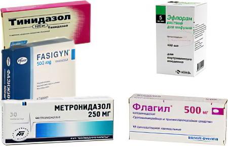 лечение трихомоноза у женщин препараты схема лечения