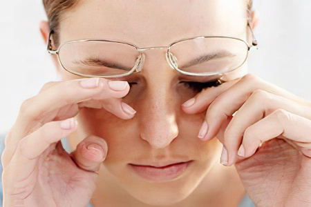 Причины резкой слепоты на один глаз периодическое