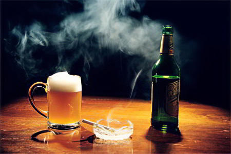Роль алкоголя и курения