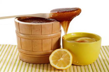 Лимон с медом и глицерином