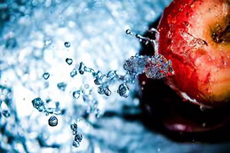 вода и фркты