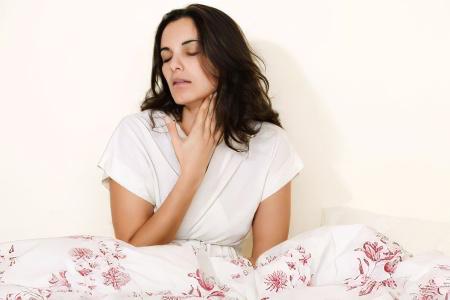 Симптомы при поражении органов дыхания