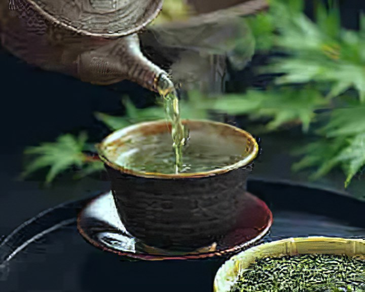 Про зелёный чай