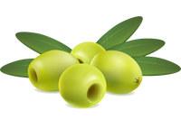 Оливки зелёные