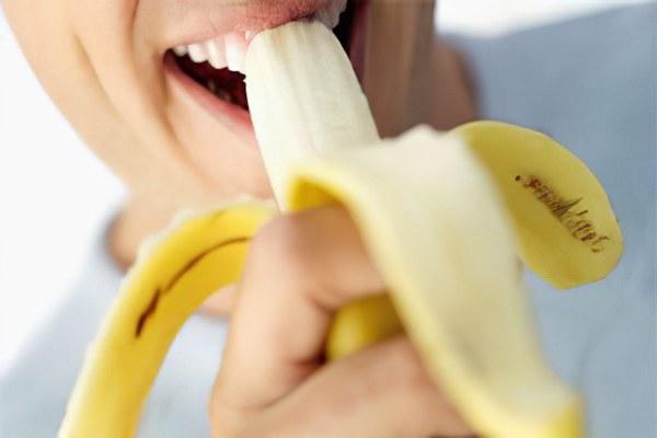 для потенции бананы со сметаной