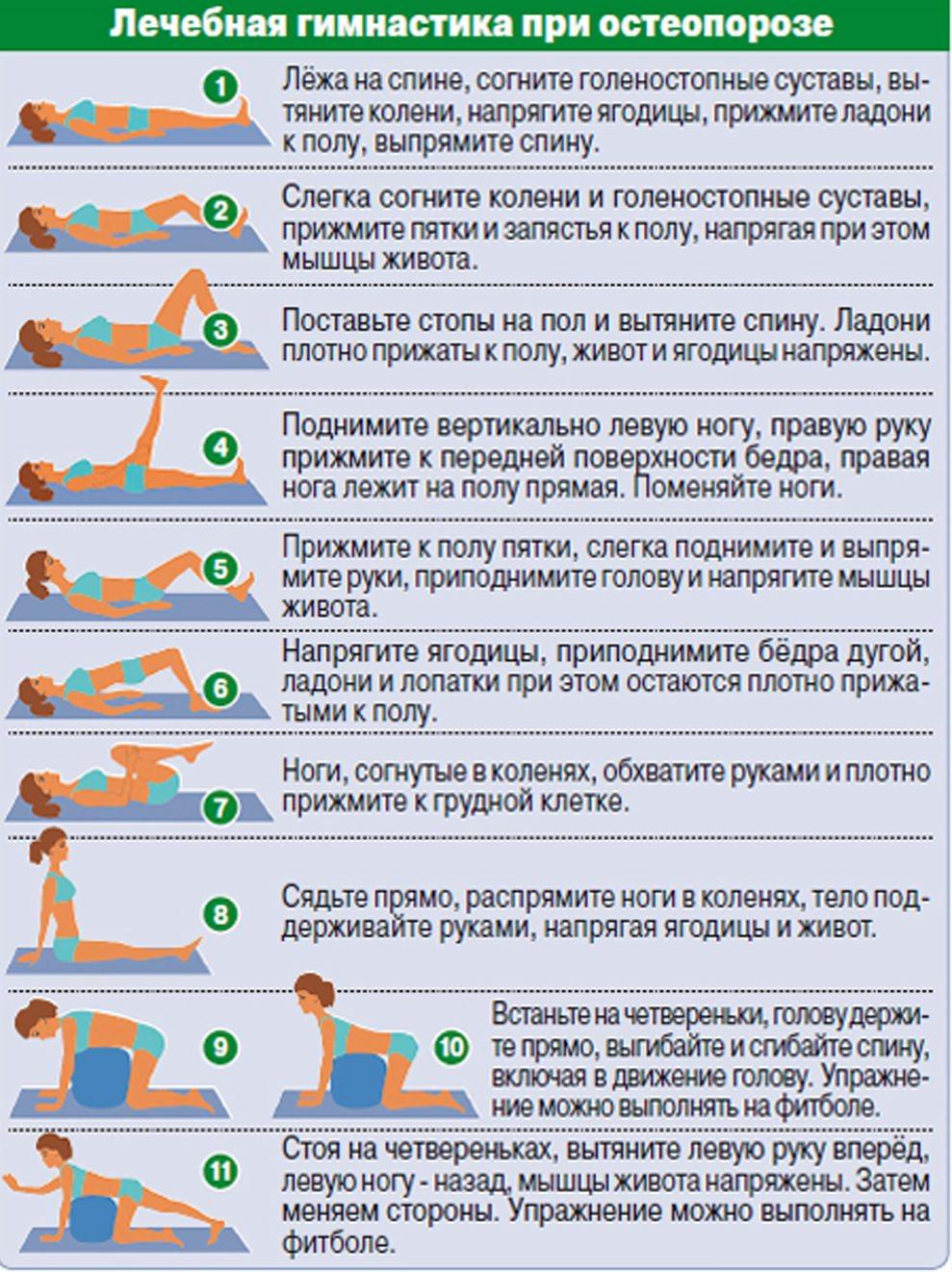 Гимнастика в домашних условиях при позвоночной грыже