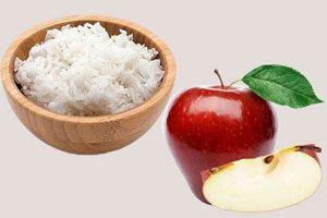 Рисово-яблочная диета