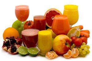 Антиоксиданты из свежевыжатых соков